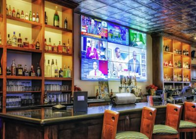 Guy Harvey Outpost Bar Video Wall