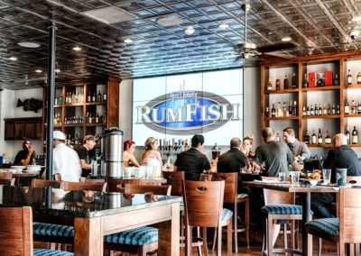 Guy Harvey Outpost RumFish Grill Video Wall