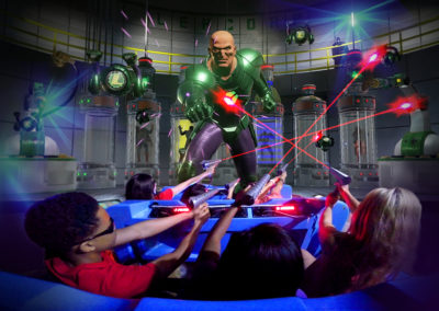 Six Flags Battle for Metropolis: Justice League of America