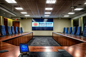 Suncoast Credit Union Boardroom
